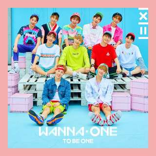 Wanna one To Be One Album Pink/Sky ver #CNY88
