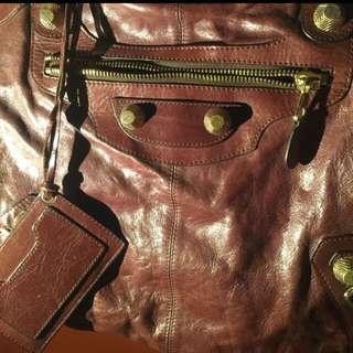 Leather Bag (Large Size) 全真皮(大手挽/上膊袋)