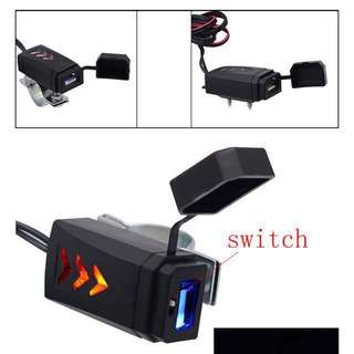 *** Motorcycle Motorbike USB Charge Port ***