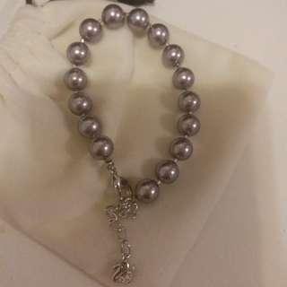 Swarovski 黑珍珠手鏈