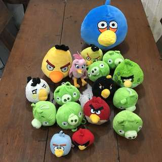 Take All Angry Birds Bad Piggies Plushies