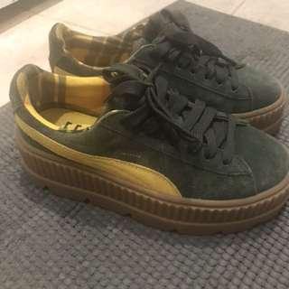 Puma fenty platform sneaker