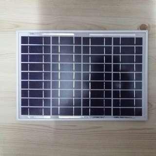 10W 18V 太陽能發電板