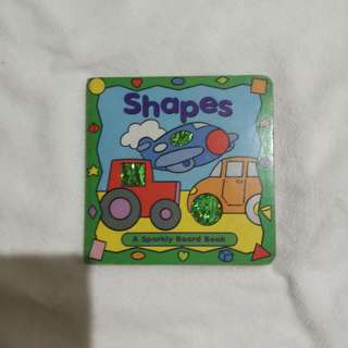 Shapes sparkly board book