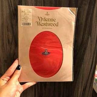 Vivienne Westwood 橙紅色絲襪褲