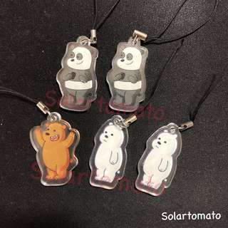 [LAST PIECES] We Bare Bear Keychains