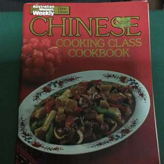 Australian women's weekly Chinese cooking class cookbook