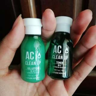 Etude House AC Clean Up Toner/Gel lotion
