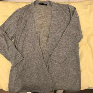 Just like New BYPAC 100% cashmere grey top