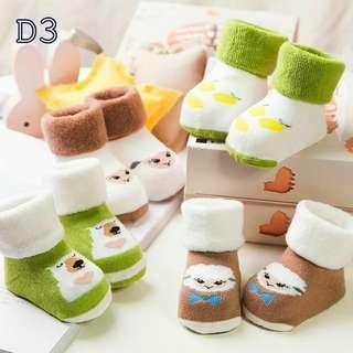 4 in 1 Baby Socks
