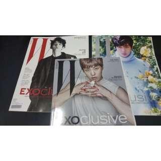 Exoclusive W Korea Magazine (Baekhyun and Sehun)