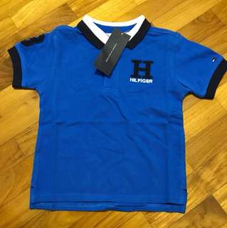 Brand new authentic Hilfiger polo tee for baby