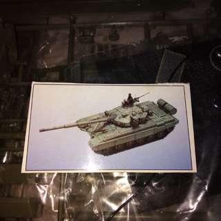 1/35  T-72 tank 2pack (小号手)model