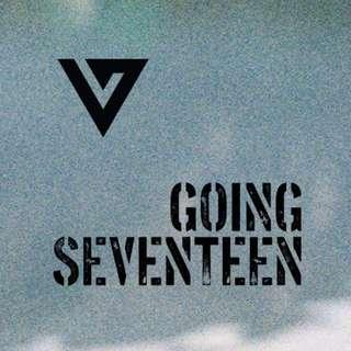 Seventeen Going Seventeen Album ver 1/2/3