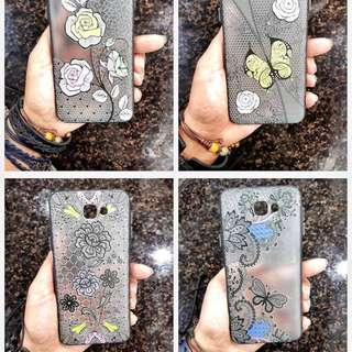 TRANSPARENT FLORAL CASE FOR IPHONE/SAMSUNG/VIVO/OPPO/HUAWEI