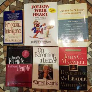 Self help books!