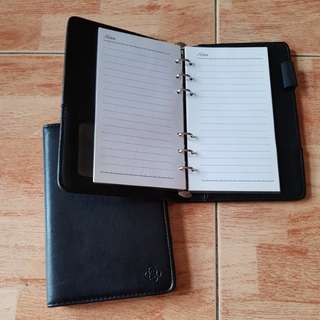 BN leather like clutch size note book