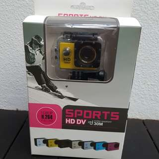 Multi-purpose sports camera Sports HD DV H.264 1080P