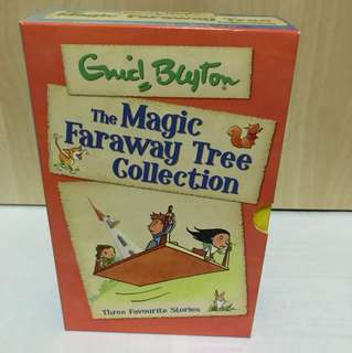 The Magic Faraway Tree Box Set - set of 3 books