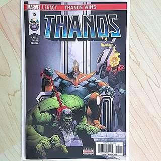 Marvel Comics Thanos 15 Near Mint Condition First Print Identity of Cosmic Ghost Rider revealed