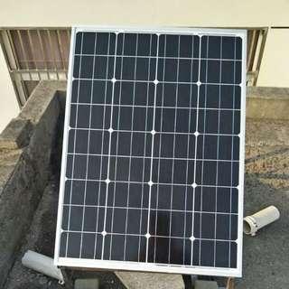 100W 18V 太陽能發電板 (要買有新)