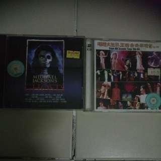 Faye Hk scenic tour 98-99/ Michael Jackson ghosts vcd