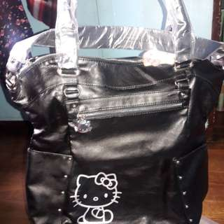 Hello Kitty Travel Bag (Black)
