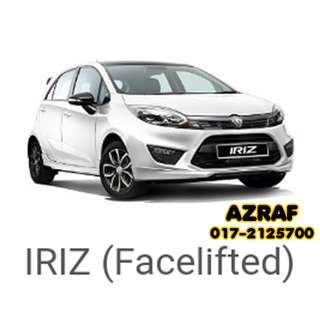 Proton Iriz, March Promotion. Discount up to RM1600 on selected models