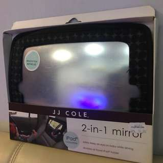 JJ COLE 2-in-1 mirror (IPAD COMPATIBLE)