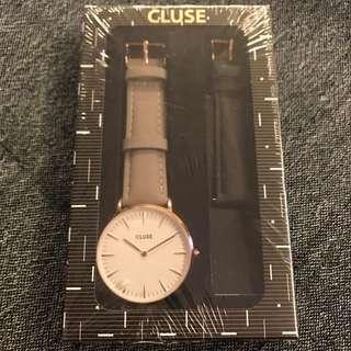 CLUSE 手表備2條不同色彩表帶