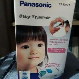 Lightly used Panasonic baby/children hair trimmer
