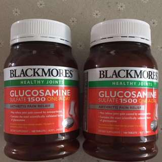 BNIB Blackmores Glucosamine sulfate 1500 once-a-day 180 tabs