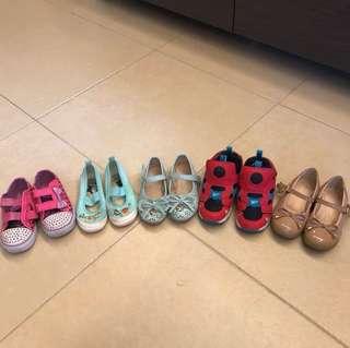 女裝 鞋仔五對 (不議價 fixed price)