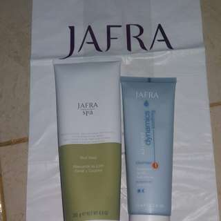 Mud mask + cleanser jafra