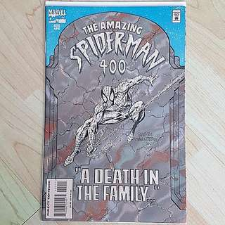 Marvel Comics Amazing Spider-Man 400 Near Mint Condition Death of Aunt May Rare Newsstand Edition
