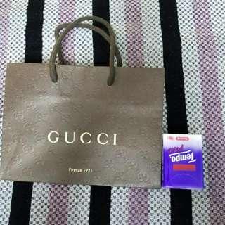 Gucci紙袋-OL食lunch用一流