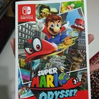 Super Mario Odyssey Prima Guide Book