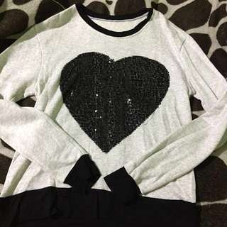 Cotton Heart Long Sleeve