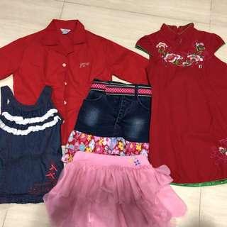 Bundle of Girls Clothings