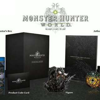 PS4 JPN ver MHW Collector's Edition