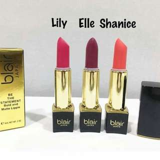 Blair lipstick set of 3