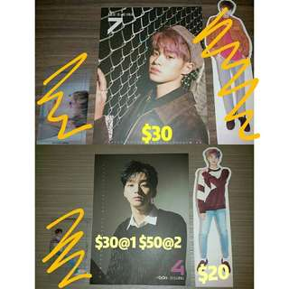 Wanna One 專輯大卡&立牌