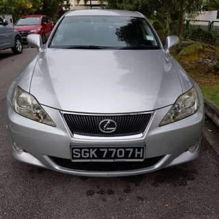 Lexus IS 250 renting cheap!!