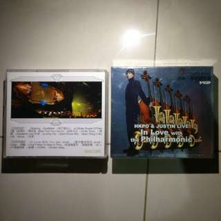 HKPO & Justin 侧田 2007 in love with the Philharmonic Concert VCD