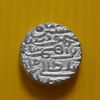 Jaunpur Sultanate -Tanka (1394-1479) - Billion Coin ~ 10.0 Grams - india ( Silver Mixed ) - bi02