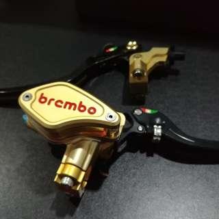 Master rem Kopling clutch Brembo 1 set kiri kanan for Ninja 250fi / Z250 / Ninja 250R mono