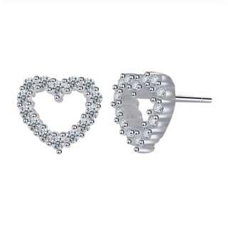 Silver Kingdom Genuine 92.5% Italy Silver Earrings E072