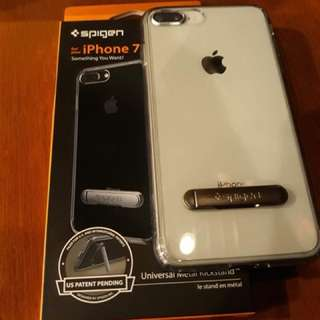 iPhone 7 or 8 plus Spigen Case with stand Authentic