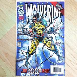 Marvel Comics Wolverine 100 Near Mint Condition  Newsstand Edition