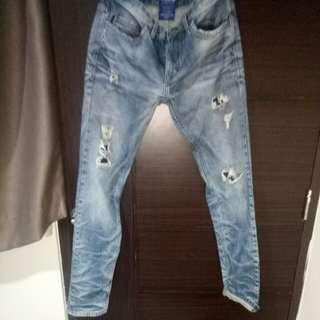 Jeans sobek / belel pull&bear